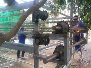 chế tạo dây chuyền sản xuất